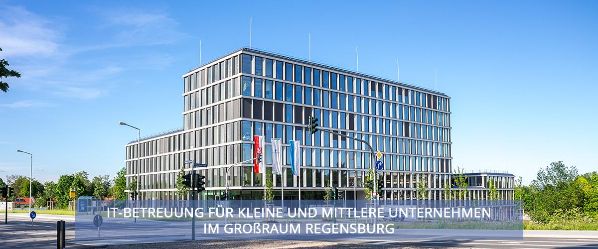 IT-Betreuung für kleine und mittlere Unternehmen im Großraum Regensburg