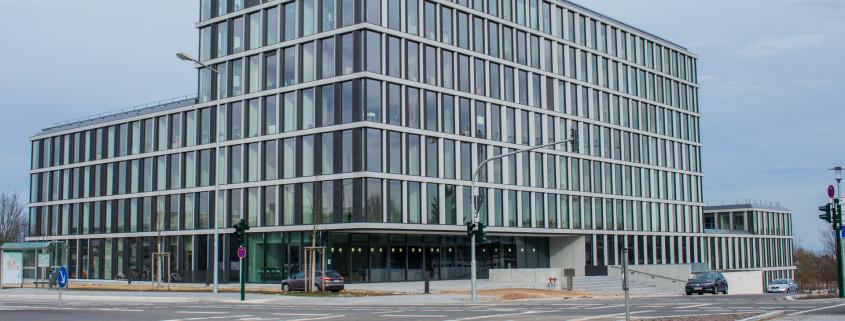 Die TechBase Regensburg von außen